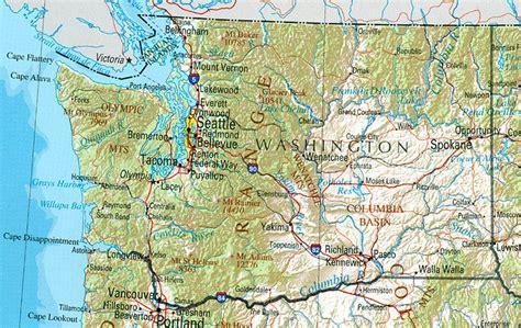 washington maps perry castaneda map collection ut