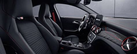 mercedes benz cla interior features mercedes benz
