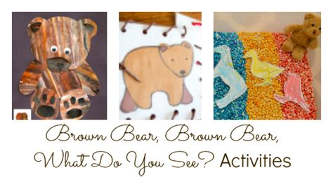 Activities For Brown Bear, Brown Bear, What Do You See