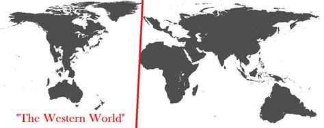 What Is World by Map Of The Western World 2640x1236 Mapporn