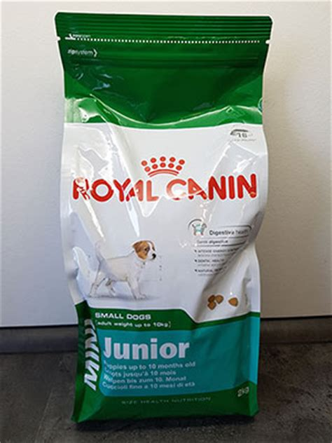 royal canin junior welpenfutter hundefutter test