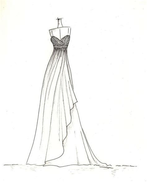 ideas  dress drawing  pinterest dress