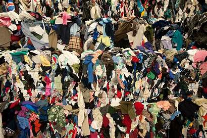 Waste Clothes Recycling Textiles Industry Clothing Environmental