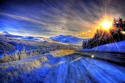 Winter Pixelstalk Alaska Wallpapers Nature