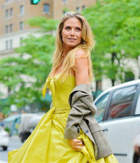 Heidi Klum Real Life Princess Show Stopping