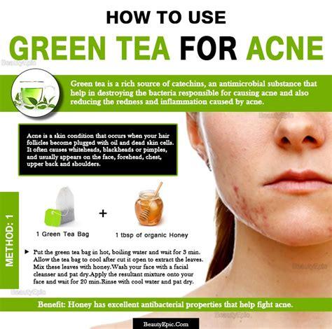 tea tree oil for hair how do you use green tea for acne