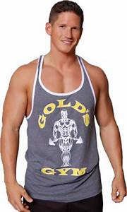 Muscle Joe Contrast Stringer Tank by Gold's Gym at ...