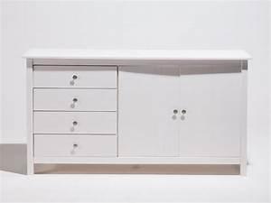 Buffet Bas Blanc : meuble buffet bas ~ Teatrodelosmanantiales.com Idées de Décoration
