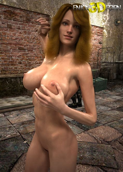 Blonde Girl With A Perfect Body Is Naked And On The Floor