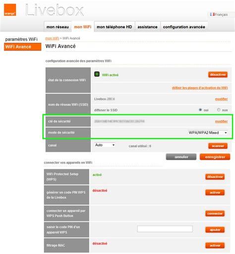 changer de livebox comment changer le mot de passe wifi de la livebox d orange