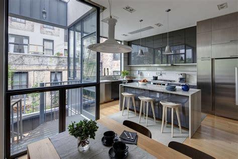 kitchen design nyc stylish townhouse interior in new york 1290