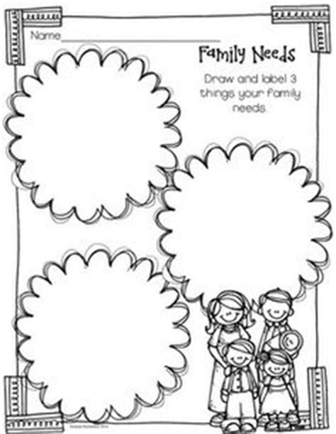 family unit worksheets family worksheet