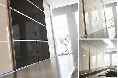 Sliding Wardrobe Doors Minimalist Door Gliss Glass