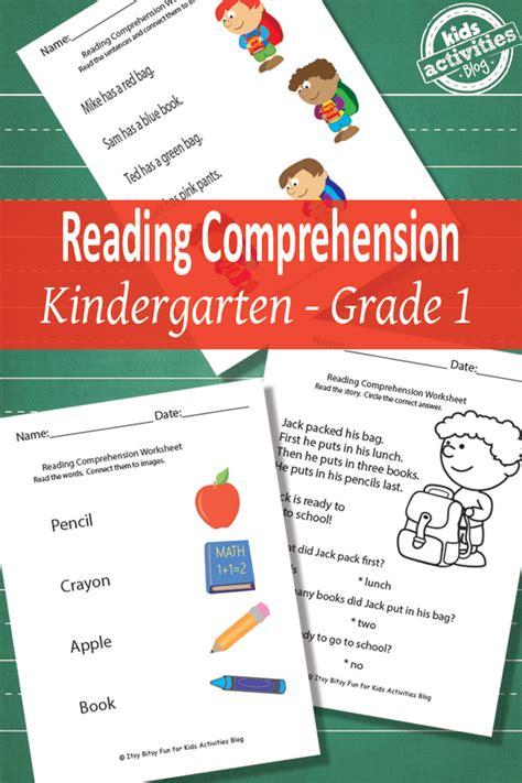 Free Reading Comprehension Worksheets  Free Homeschool Deals
