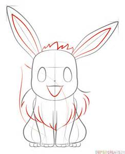 Step How Draw Pokemon Eevee