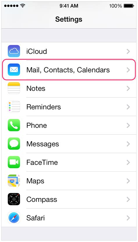iphone mail settings configuring iphone with teleport mail support