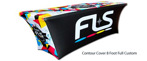 tension fabric table covers printed tension spandex stretch tablecloths