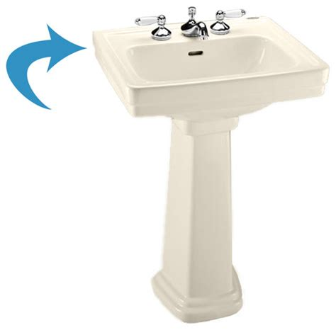 toto lpt532n sedona beige promenade pedestal lavatory sink only single transitional