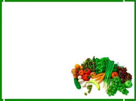 green foods   backgrounds   powerpoint templates