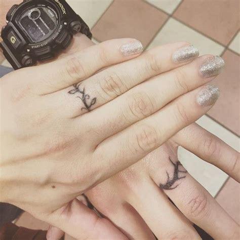 1000 ideas about ring tattoo wedding on pinterest