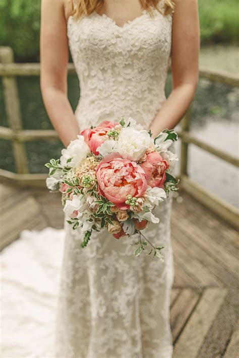 Gorgeous Relaxed And Rustic Coral Peony Filled Barn Wedding