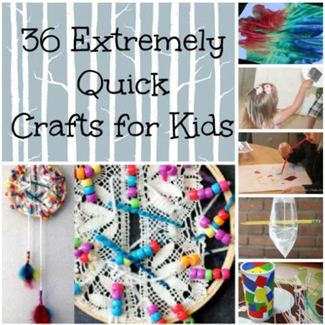 quick  easy art projects  boredom busters