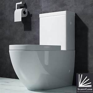 Stand Wc Mit Keramikspülkasten : design stand wc toilette bodenstehend tiefsp ler mit ~ Articles-book.com Haus und Dekorationen