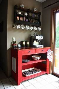 17 best images about diy at home coffee bar ideas on With home coffee bar design ideas