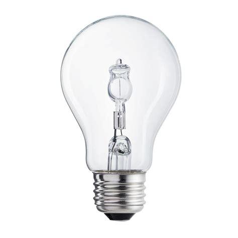 empty light bulb ecosmart 40 watt equivalent incandescent a19 clear light