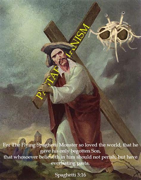 uncanny factoid church   flying spaghetti monster