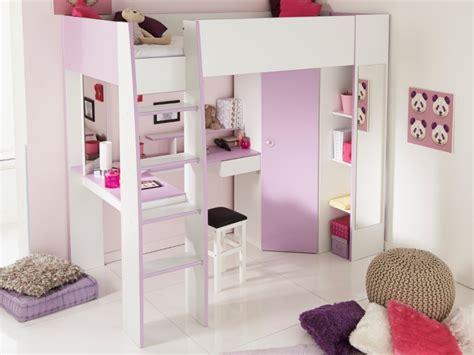 lit mezzanine avec bureau et armoire integres lit mezzanine gemma 90x200cm bureau avec sans sans matelas