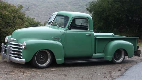 check out this striking 1950 chevrolet muscle truck