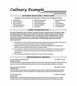 Chef resume free excel templates for Chef resume template free
