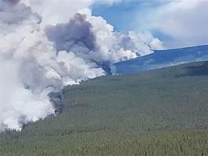 Telegraph Creek Fires Merge In British Columbia  Still Growing