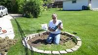 how to landscape your yard How to remove grass from your yard for a garden - YouTube