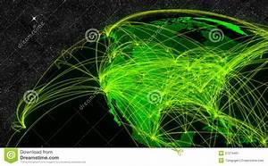 North America Network Stock Image - Image: 37274461