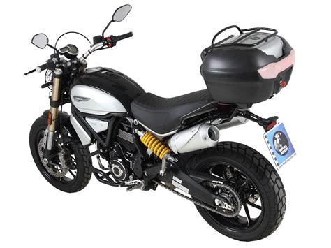 Scrambler 1100 Image by Easyrack Topcasecarrier Black For Ducati Scrambler 1100