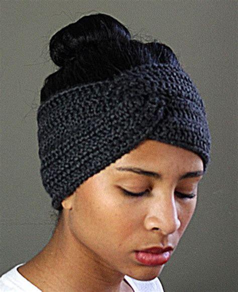 crochet hair band twisted crocheted headband earwarmer 18 00 clothes and