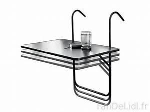 Table De Balcon Rabattable : table de balcon jardin fan de lidl fr ~ Teatrodelosmanantiales.com Idées de Décoration