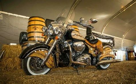 Jack Daniels Tennessee Whiskey Indian Motorcycle