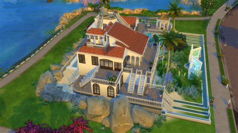 villa type house big family  sims forums