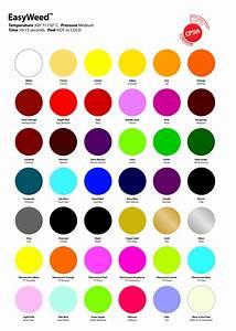 Htv Color Chart Siser Easyweed Heat Transfer Vinyl 15x12 12 Color Starter