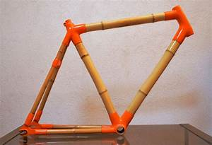 Bamboo bike road frame bici bambu single speed fixed gear ...