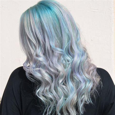 beautiful pastel goddess hair colors ideas