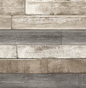 weathered plank gray wood texture wallpaper rustic wallpaper by brewster home fashions
