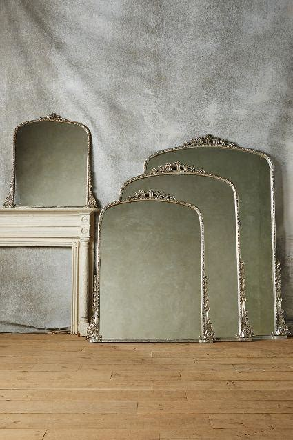 arched silver gleaming primrose mirror