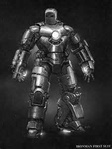 First Iron Man Suit
