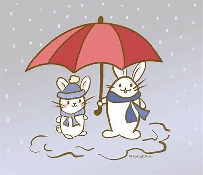 Animation Rainy Rain 1932 Illustrations Menu