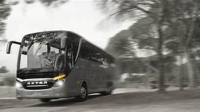 Bus Setra Coach Buses Wallpapers Coloring Selective