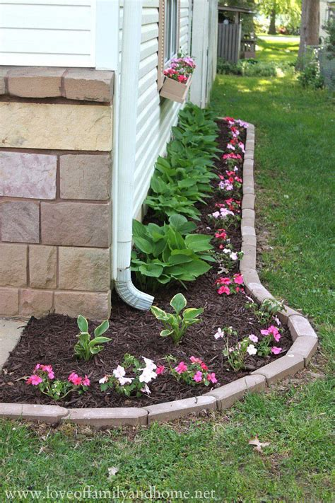 34672 flower bed edging ideas 25 best lawn edging ideas and designs for 2018